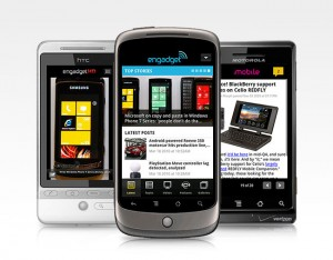 Engadget Android applicatie