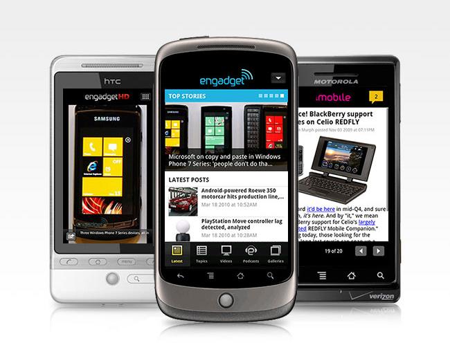 Engadget lanceert eigen Android-applicatie