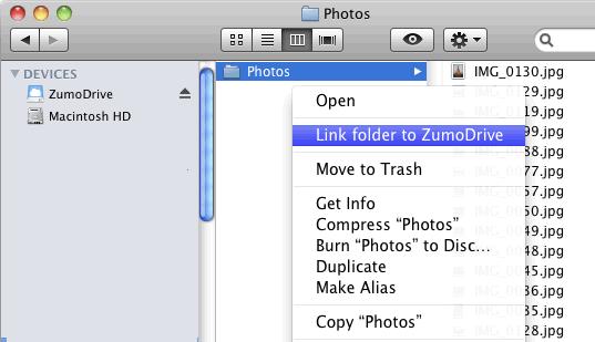 ZumoDrive Mac