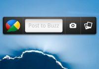 Google Buzz voor Android gelanceerd als widget