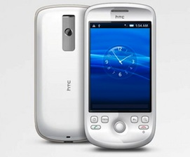 htc magic x10 interface