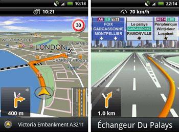 navigon android europe