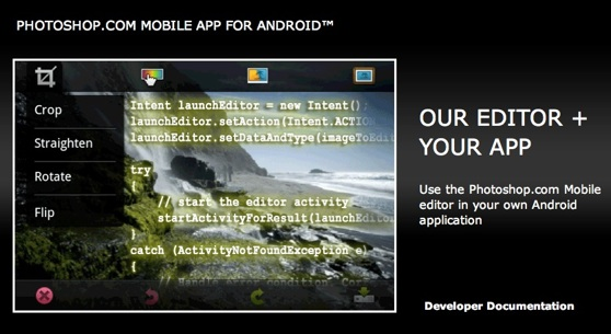 photoshop android integratie