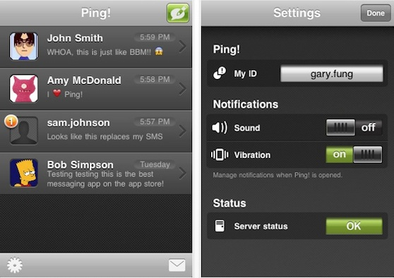 ping android