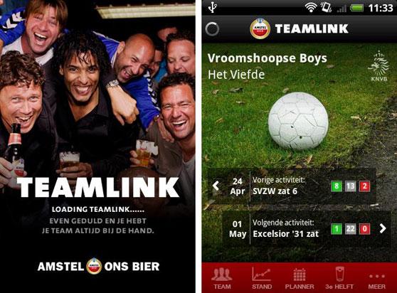 amstel teamlink android