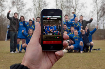 Amstel Teamlink als Android-applicatie gelanceerd
