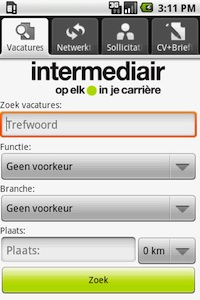 android intermediair