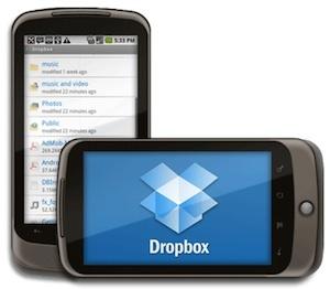 Dropbox Android-applicatie van start met betatest