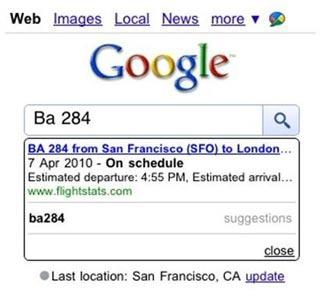 Nu ook universal search voor Google zoeken voor mobiel