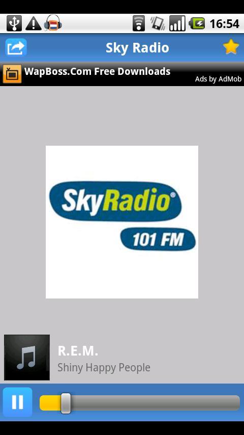 Radio.nl in de Android Market gelanceerd