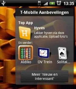 t-mobile aanbevelingen