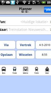 9292ov PRO kan plannen vanaf je huidige locatie.