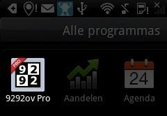 9292ov PRO nu in de Android Market