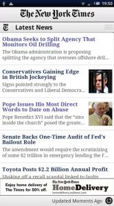 New York Time laatste nieuws