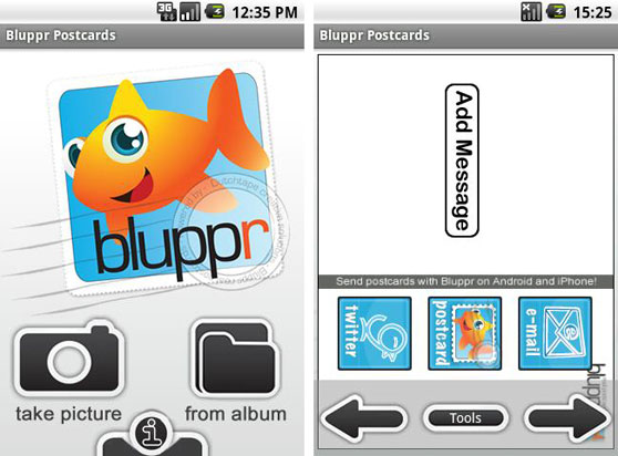 bluppr android