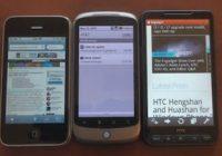 Android 2.2 Froyo webbrowser in vergelijkende test