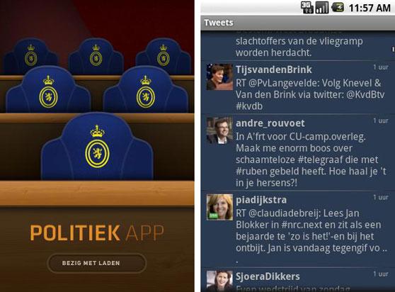 politiek app