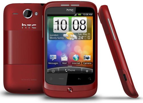 HTC Wildfire krijgt software-update