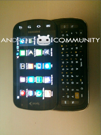 Eerste echte foto van de Samsung Galaxy S Pro opgedoken