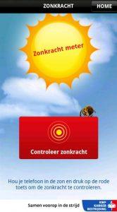 KWF zonkracht zonkrachtmeter