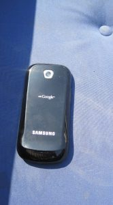 Samsung Galaxy Apollo - achterkant