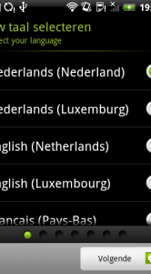 Nederlandse taal zit er ook in. Luxemburg moet misschien België zijn?