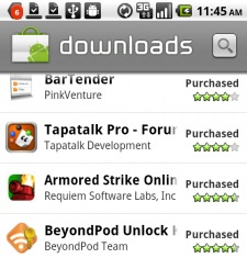 downloads android