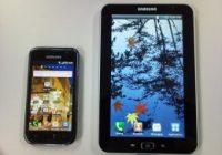 Samsung Galaxy Tab in een Australische trein gespot?