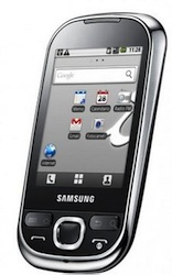 Samsung Corby met Android kost nog geen 200 euro