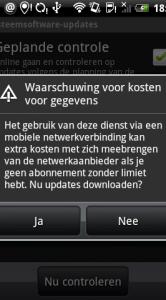 Stap 2: Klik de waarschuwing weg. De download gaat nu van start.