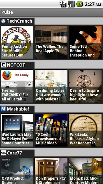 Pulse News Reader: bijzondere rss-lezer voor Android