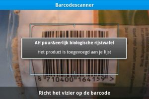 appie barcode
