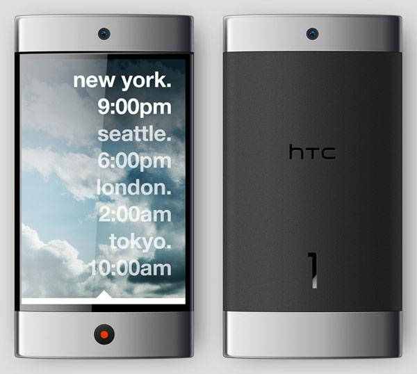 Ontwerper maakt HTC 1: concept-smartphone voor HTC