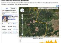 Wielrenners HTC-Columbia te volgen dankzij Android-app My Tracks