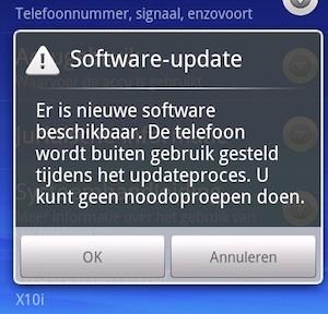 xperia update