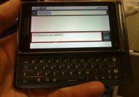 Mogelijke opvolger van de Motorola Milestone gesignaleerd