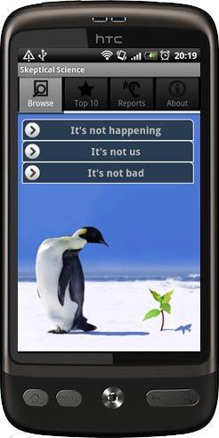 Skeptical Science voor Android: problemen met het milieu zijn echt