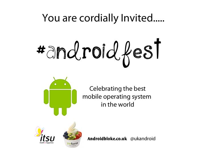 Androidfest: vier het succes van Android