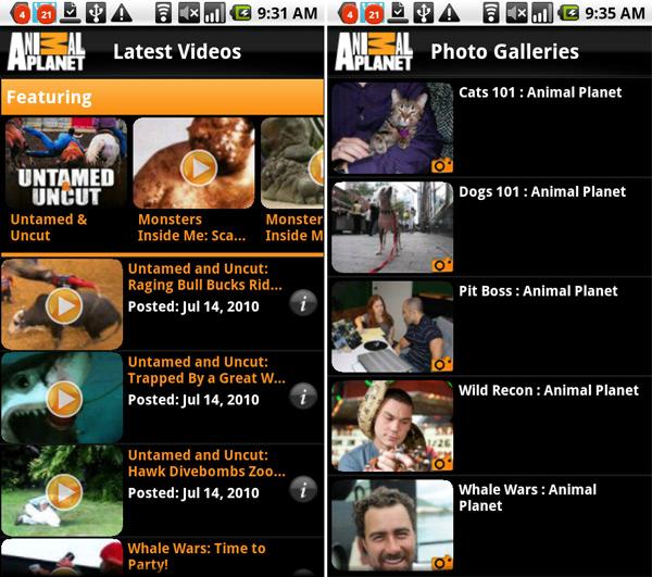 Animal Planet: aapjes kijken op je Android