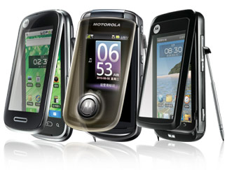 Motorola lanceert nieuwe Mings in China: A1680, MT810 en XT806