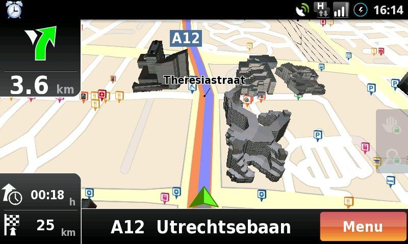 Review: NDrive, goedkope navigatie in het buitenland