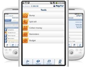 PayPal Mobile voor Android 2.0 krijgt Bump-functie