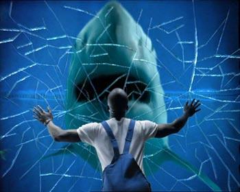 Shark or Die: happen naar watertrappelende mensen