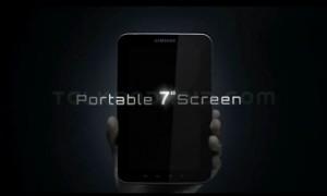 Teaser van Samsung Galaxy Tab
