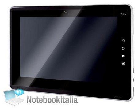 Toshiba SmartPad tablet laat zich zien