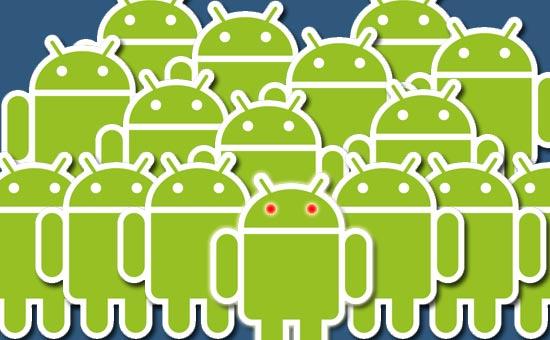 Marktaandeel Android groeit met vijf procentpunten