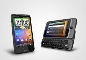 HTC Desire HD en Z