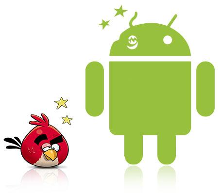 Angry Birds bèta in de Android Market verschenen