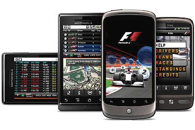Volg alles over Formule 1 met F1 Timing 2010