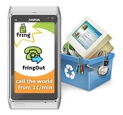 FringOut voor Android aangekondigd: wereldwijd bellen voor 1 cent